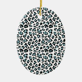 Modelo del estampado de animales del leopardo del adorno de reyes