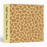 Modelo del estampado de girafa