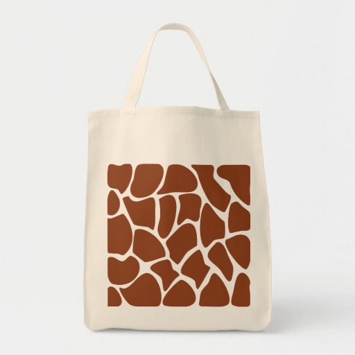 Modelo del estampado de girafa de Brown Bolsa De Mano