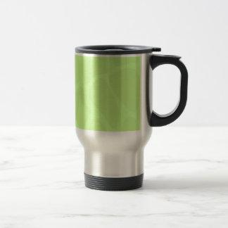 Modelo del estampado de girafa en verde de cal lig tazas de café