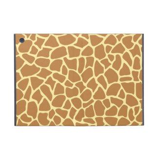 Modelo del estampado de girafa iPad mini cárcasas