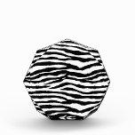 Modelo del estampado de zebra