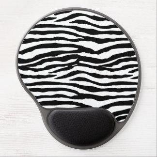 Modelo del estampado de zebra alfombrillas de raton con gel