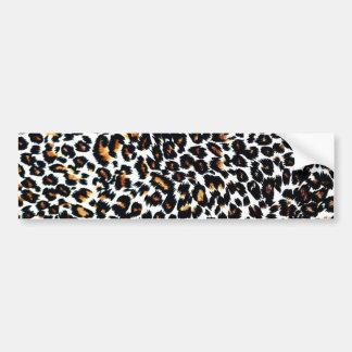Modelo del estampado leopardo pegatina para auto