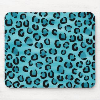 Modelo del estampado leopardo del trullo alfombrilla de ratones