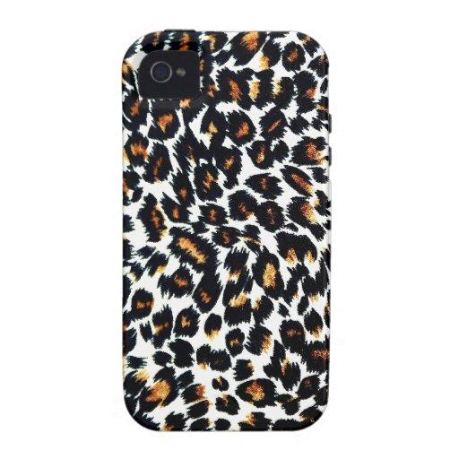 Modelo del estampado leopardo iPhone 4 funda