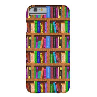 Modelo del estante de librería de la biblioteca funda para iPhone 6 barely there