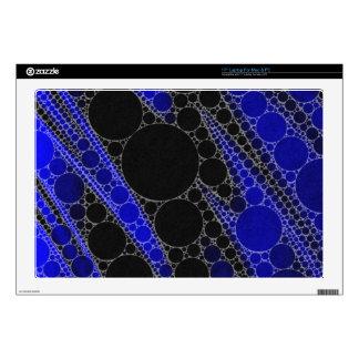 Modelo del extracto del negro azul calcomanía para 43,2cm portátil