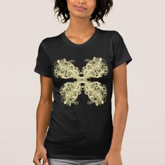 Modelo del Flourish de Handrawn que brilla Tee Shirt