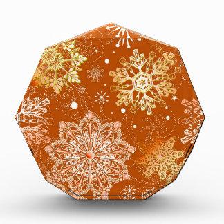 Modelo del fondo del copo de nieve, sel múltiple d