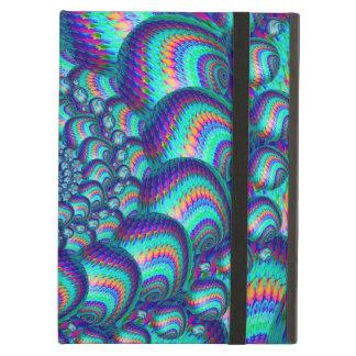 Modelo del fractal de las bolas de las azules turq