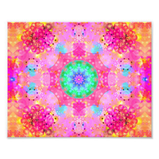 Modelo del fractal de las estrellas y de las fotografías