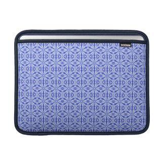 Modelo del fractal del azul real 13 pulgadas fundas MacBook