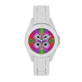 - Modelo del fractal - reloj inspirado carnaval