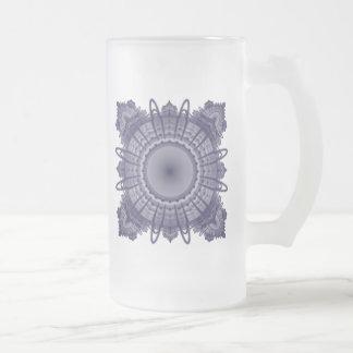 Modelo del fractal taza de cristal