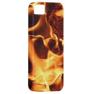 Modelo del fuego y de la llama iPhone 5 protectores