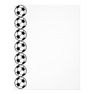 "Modelo del fútbol folleto 8.5"" x 11"""
