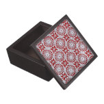 Modelo del ganchillo del vintage cajas de joyas de calidad