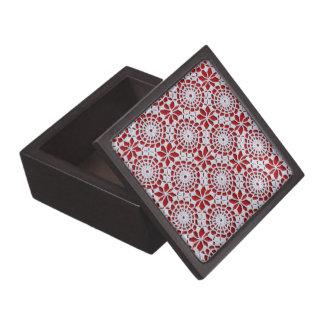 Modelo del ganchillo del vintage cajas de regalo de calidad
