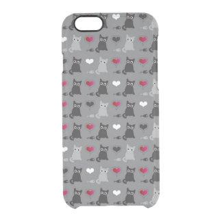 modelo del gatito y de los ratones funda clear para iPhone 6/6S