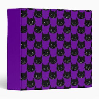 "Modelo del gato negro carpeta 1 1/2"""