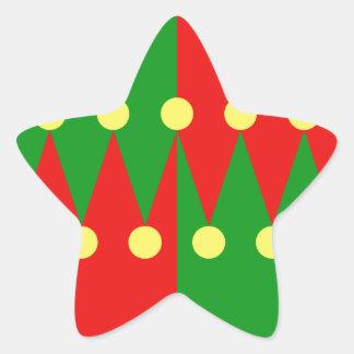 Modelo del gorra pegatinas forma de estrellaes personalizadas