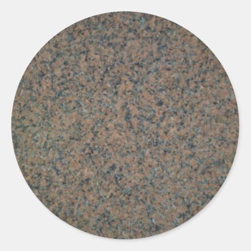 Modelo del granito etiquetas