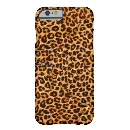 Modelo del guepardo funda de iPhone 6 slim