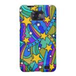 Modelo del Hippie de la estrella fugaz Samsung Galaxy SII Fundas