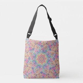 Modelo del Hippie todo encima - imprima la bolsa