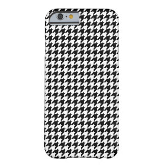 modelo del houndstooth funda de iPhone 6 barely there