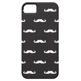 Modelo del inconformista del bigote iPhone 5 Case-Mate protectores