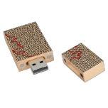 Modelo del laberinto memoria USB 2.0 de madera
