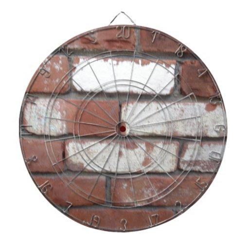 Modelo del ladrillo tablero de dardos