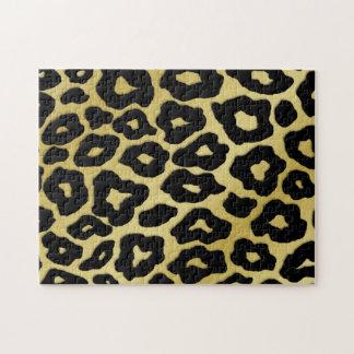 Modelo del leopardo de la MOD Rompecabezas