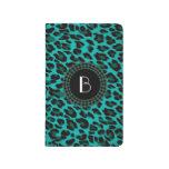 Modelo del leopardo del estampado de animales cuadernos
