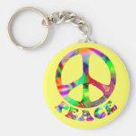 Modelo del llavero de la paz