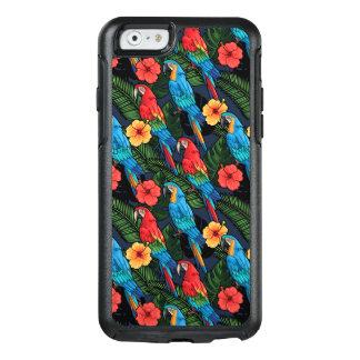 Modelo del Macaw y del hibisco Funda Otterbox Para iPhone 6/6s