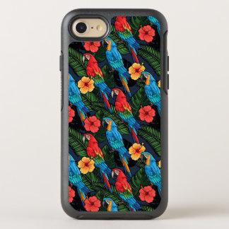 Modelo del Macaw y del hibisco Funda OtterBox Symmetry Para iPhone 7
