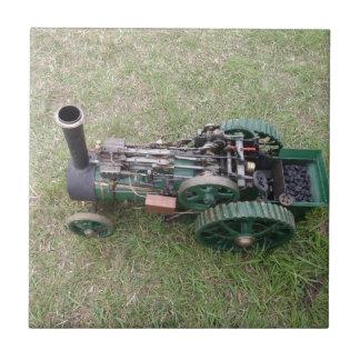 Modelo del motor de tracción azulejo cuadrado pequeño