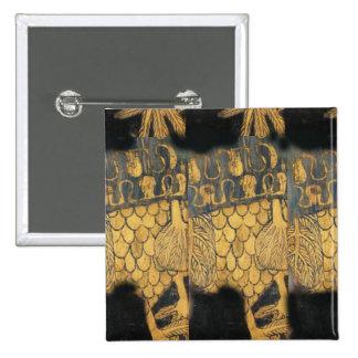 Modelo del negro del oro de Nouveau Gustavo Klimt Pin