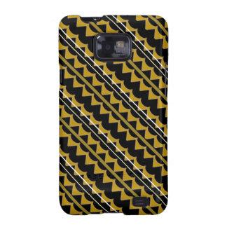 Modelo del negro y del oro Producto del personali Samsung Galaxy S2 Funda