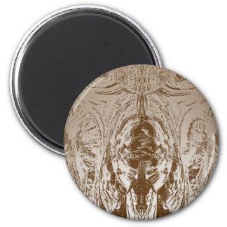 Modelo del oro del VINTAGE del estilo de la cueva Iman