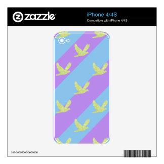 modelo del pájaro 61.pngSeamless y de las rayas iPhone 4S Calcomanía