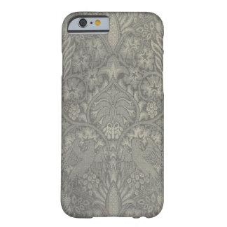 Modelo del pájaro y de la vid de William Morris Funda Para iPhone 6 Barely There