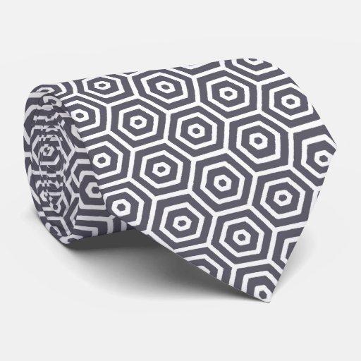 Modelo del panal corbata personalizada