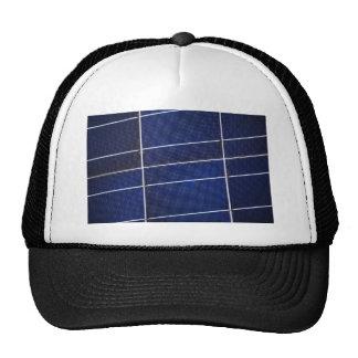Modelo del panel solar gorras