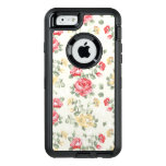 Modelo del papel pintado de la elegancia de rosas funda otterbox para iPhone 6/6s