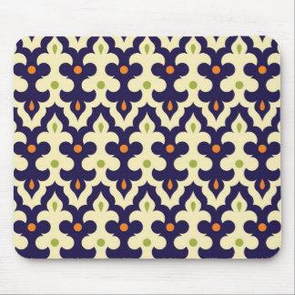 Modelo del papel pintado del arabesque de Paisley  Tapetes De Ratón
