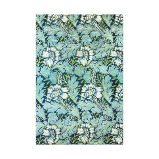 Modelo del papel pintado floral del Victorian de S Lona Envuelta Para Galerias